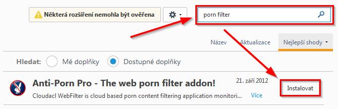 anti_porn-doplnek porn filter